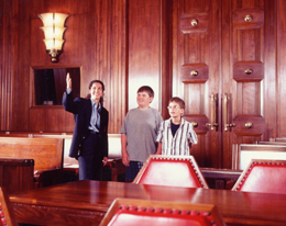 Photo - Visitors in the Main Courtroom