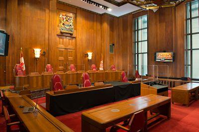 Cour suprême du canada la cour lédifice de la csc